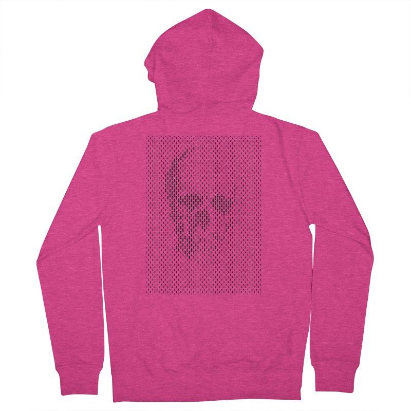 Almost Skull Women's Zip-Up Hoody by sustici's Artist Shop