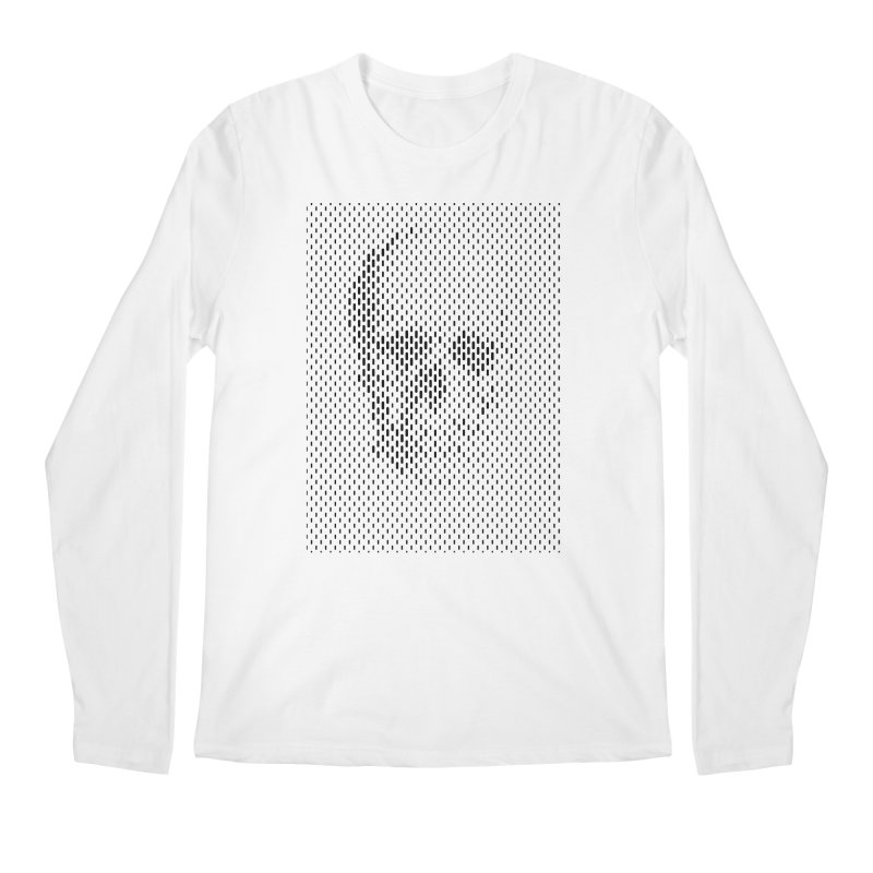 Almost Skull Men's Regular Longsleeve T-Shirt by sustici's Artist Shop