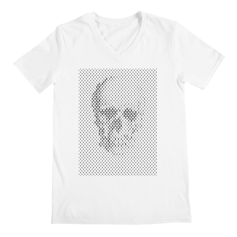 Almost Skull Men's Regular V-Neck by sustici's Artist Shop