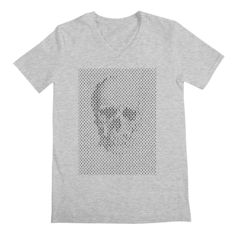 Almost Skull Men's V-Neck by sustici's Artist Shop