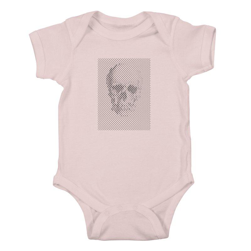 Almost Skull Kids Baby Bodysuit by sustici's Artist Shop