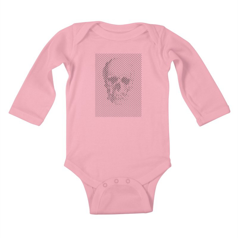 Almost Skull Kids Baby Longsleeve Bodysuit by sustici's Artist Shop