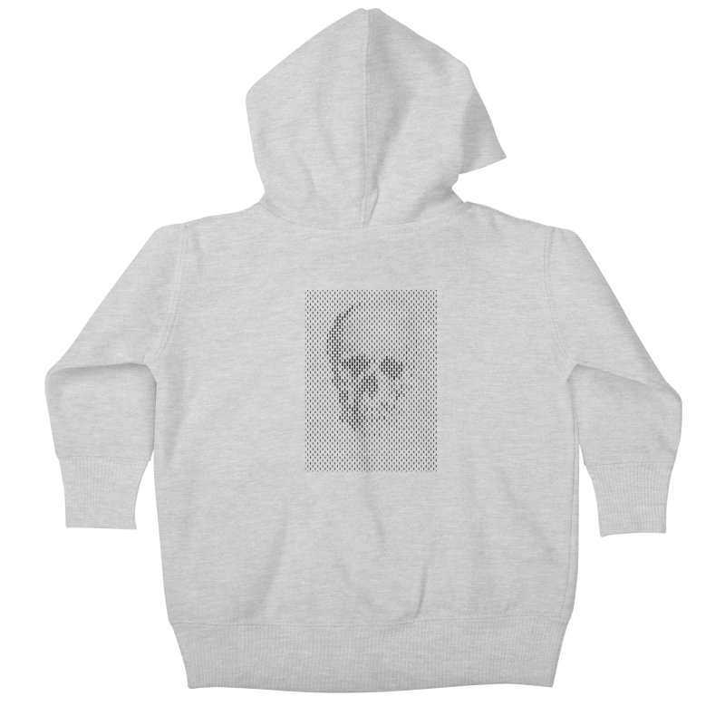 Almost Skull Kids Baby Zip-Up Hoody by sustici's Artist Shop