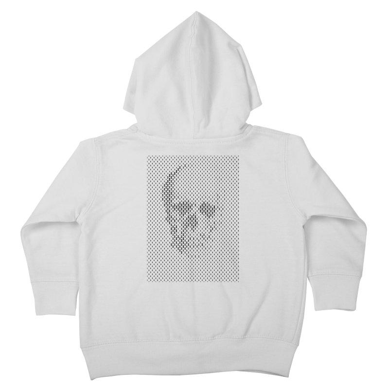 Almost Skull Kids Toddler Zip-Up Hoody by sustici's Artist Shop