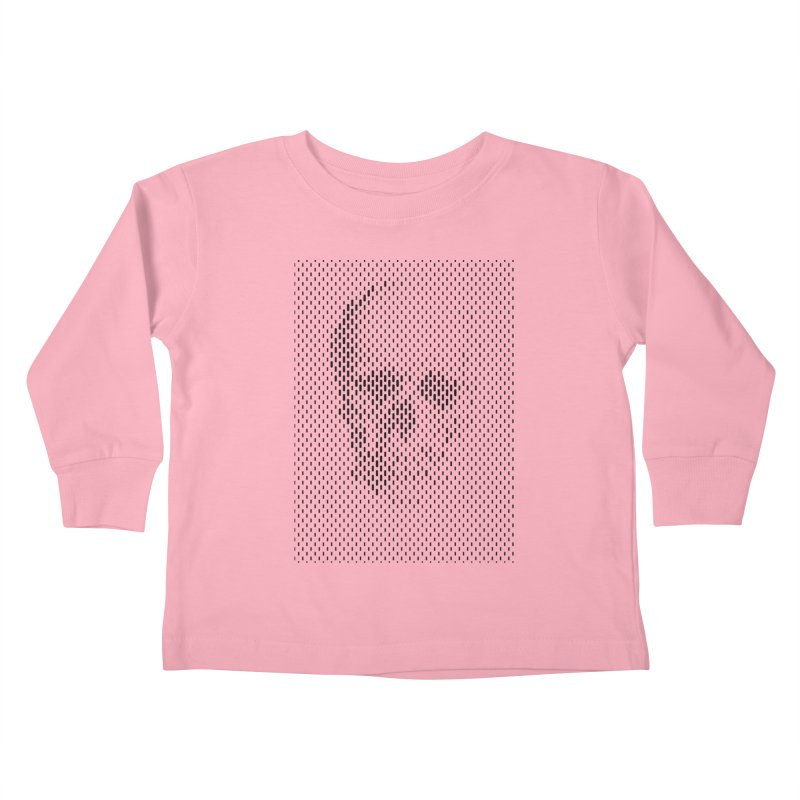 Almost Skull Kids Toddler Longsleeve T-Shirt by sustici's Artist Shop