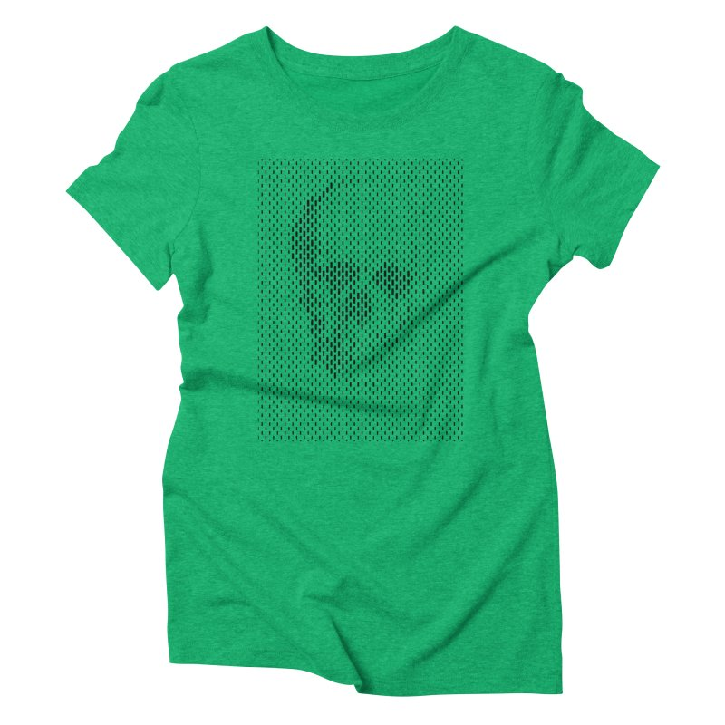 Almost Skull Women's Triblend T-Shirt by sustici's Artist Shop