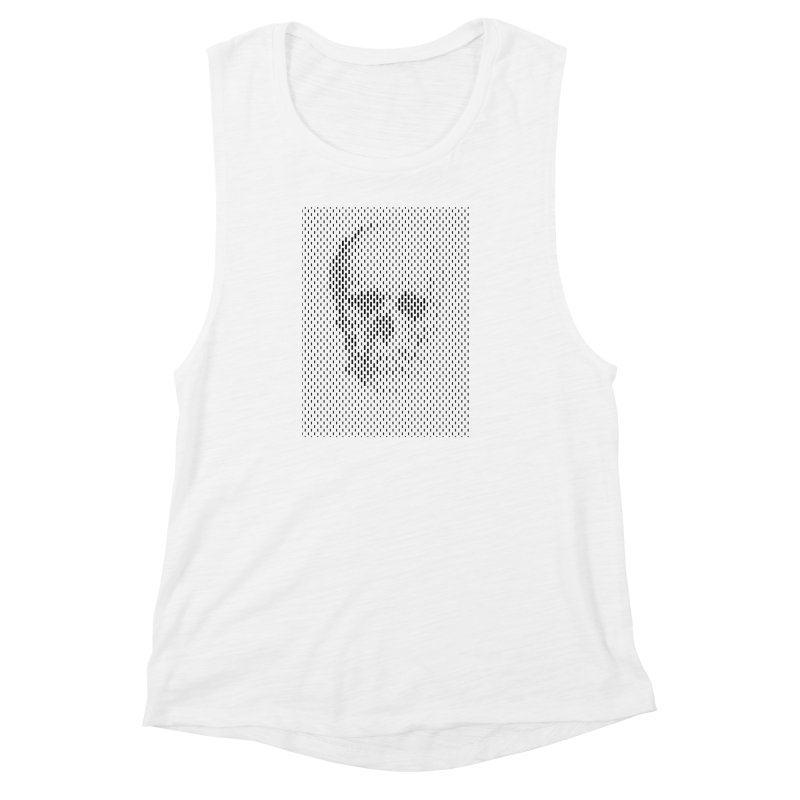 Almost Skull Women's Muscle Tank by sustici's Artist Shop