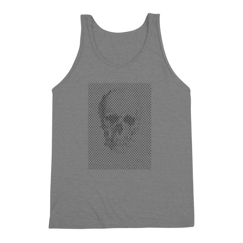 Almost Skull Men's Triblend Tank by sustici's Artist Shop
