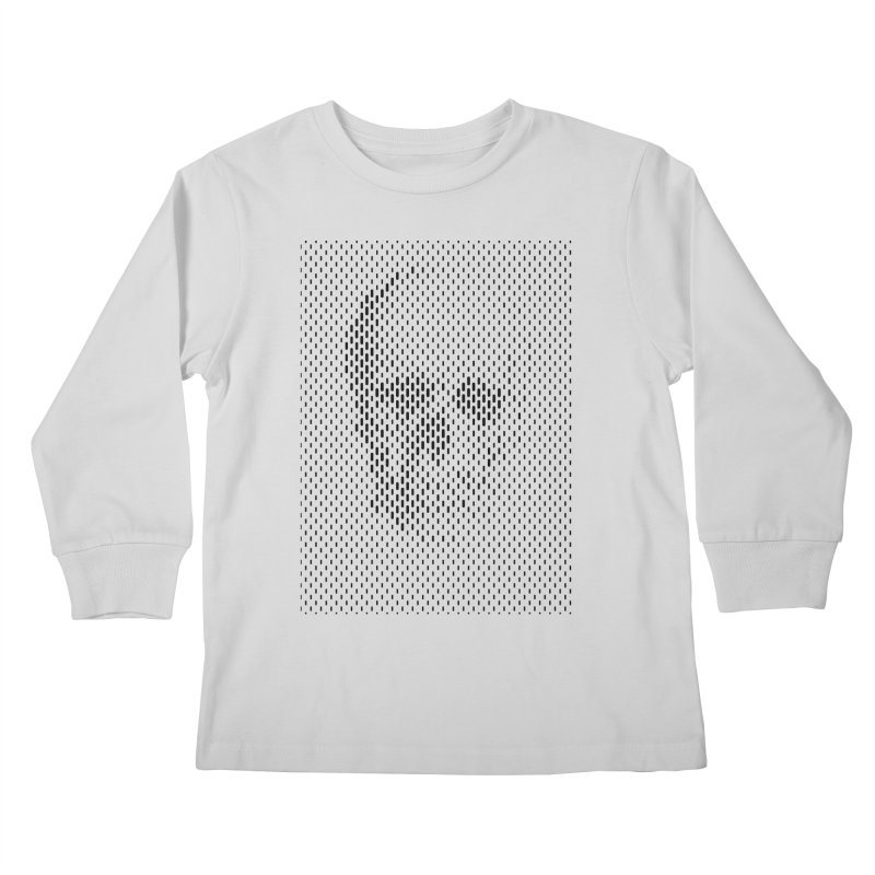Almost Skull Kids Longsleeve T-Shirt by sustici's Artist Shop