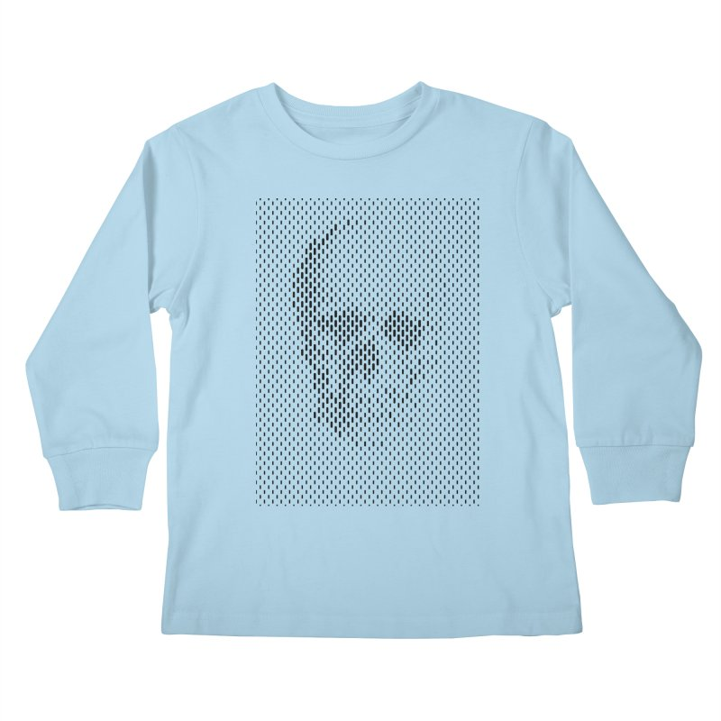 Almost Skull Kids Longsleeve T-Shirt by sustici's Artist Shop