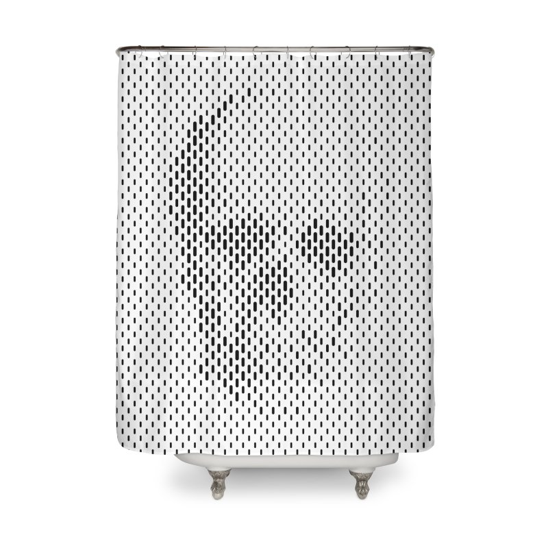 Almost Skull Home Shower Curtain by sustici's Artist Shop