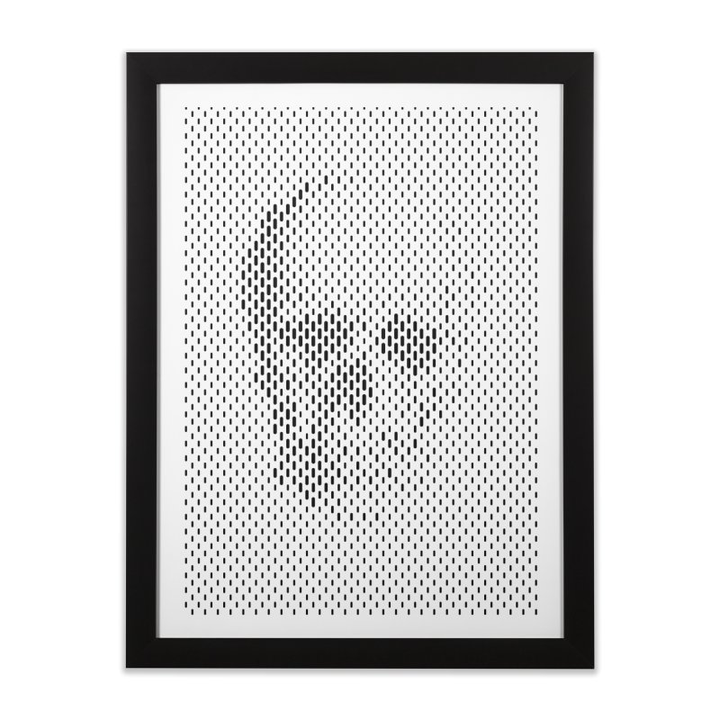 Almost Skull Home Framed Fine Art Print by sustici's Artist Shop