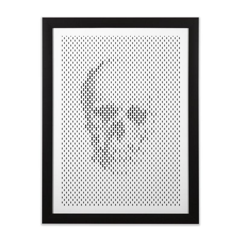 Almost Skull Home Framed Fine Art Print by sustici's Artist Shop