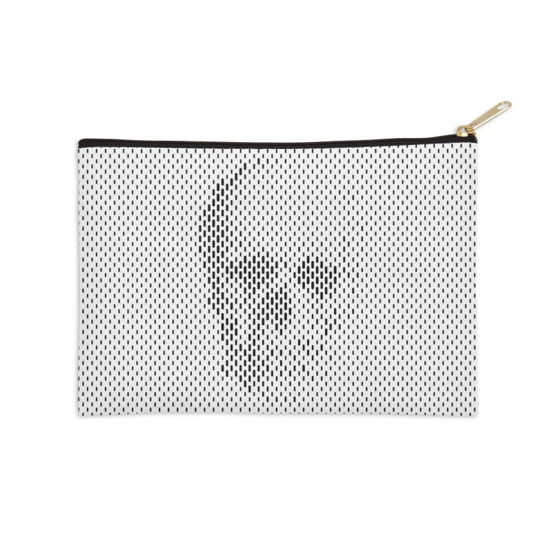 Almost Skull Accessories Zip Pouch by sustici's Artist Shop