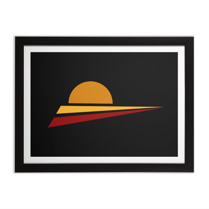 O SOLE MIO Home Framed Fine Art Print by sustici's Artist Shop