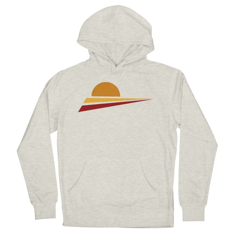 O SOLE MIO Men's French Terry Pullover Hoody by sustici's Artist Shop