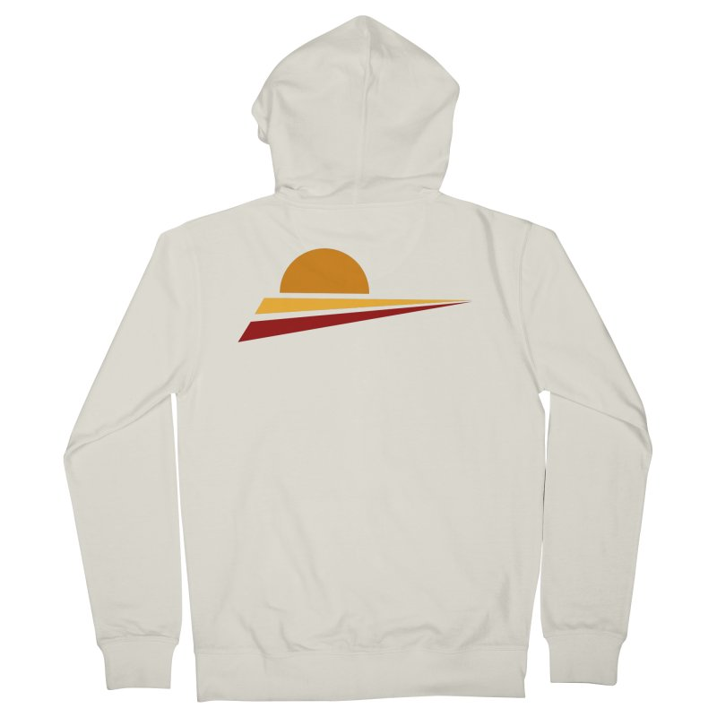 O SOLE MIO Men's French Terry Zip-Up Hoody by sustici's Artist Shop