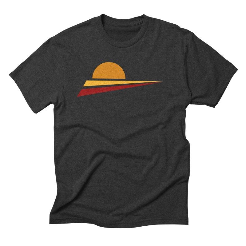 O SOLE MIO Men's Triblend T-Shirt by sustici's Artist Shop