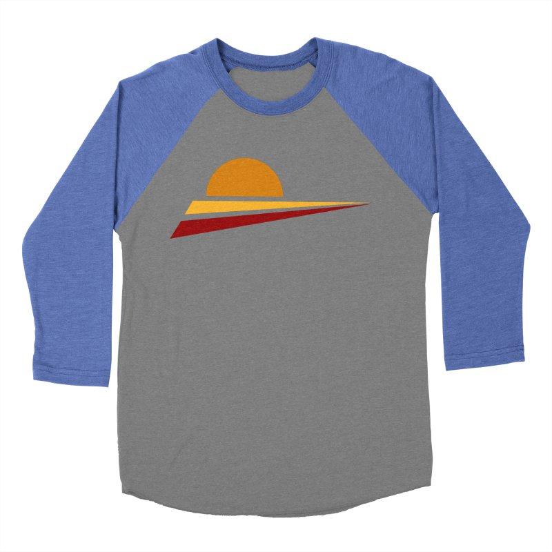 O SOLE MIO Men's Baseball Triblend Longsleeve T-Shirt by sustici's Artist Shop