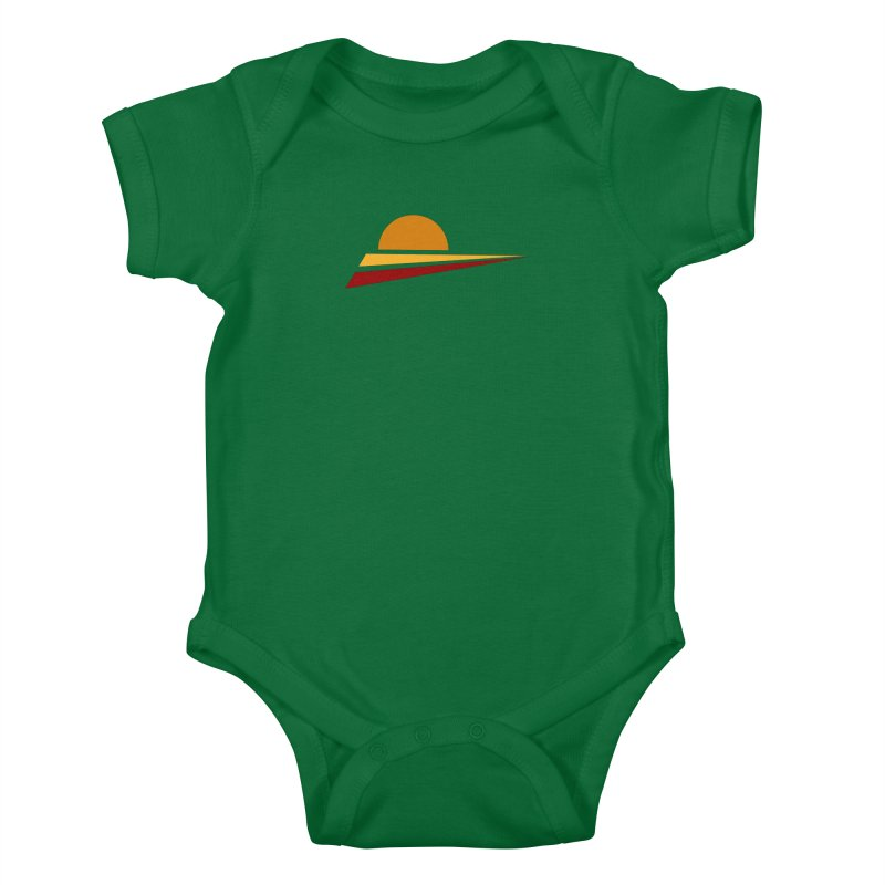 O SOLE MIO Kids Baby Bodysuit by sustici's Artist Shop