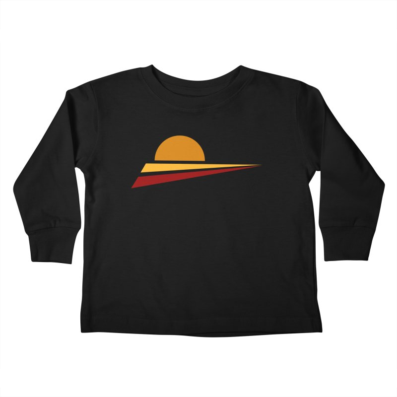 O SOLE MIO Kids Toddler Longsleeve T-Shirt by sustici's Artist Shop