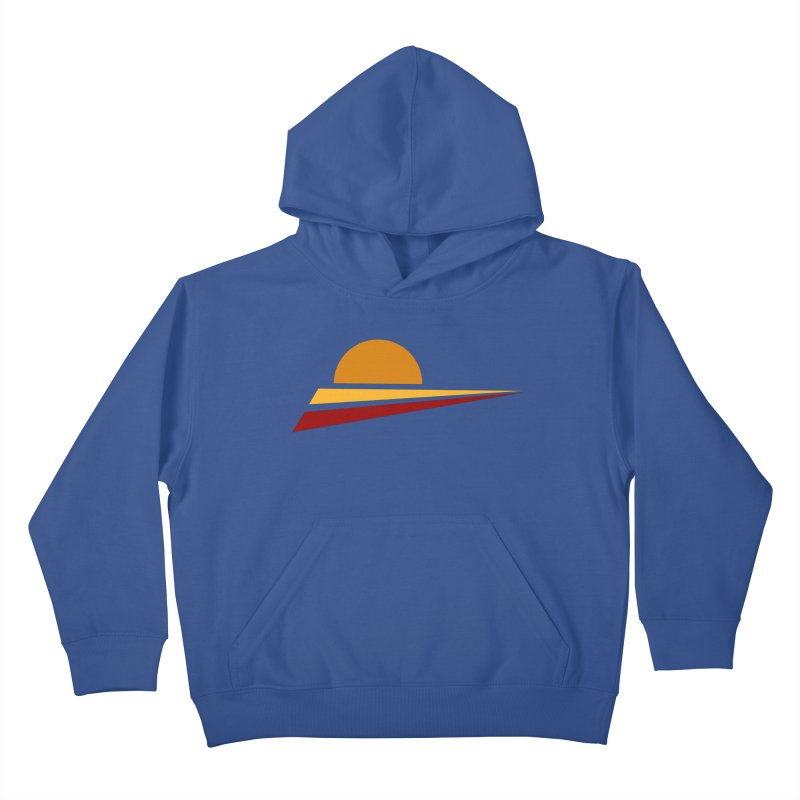 O SOLE MIO Kids Pullover Hoody by sustici's Artist Shop