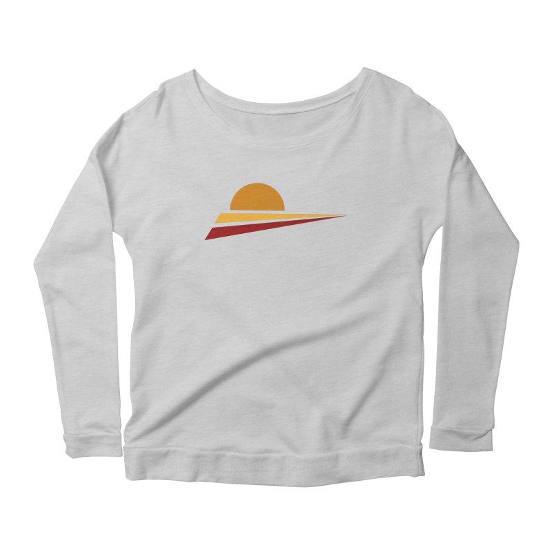 O SOLE MIO Women's Scoop Neck Longsleeve T-Shirt by sustici's Artist Shop