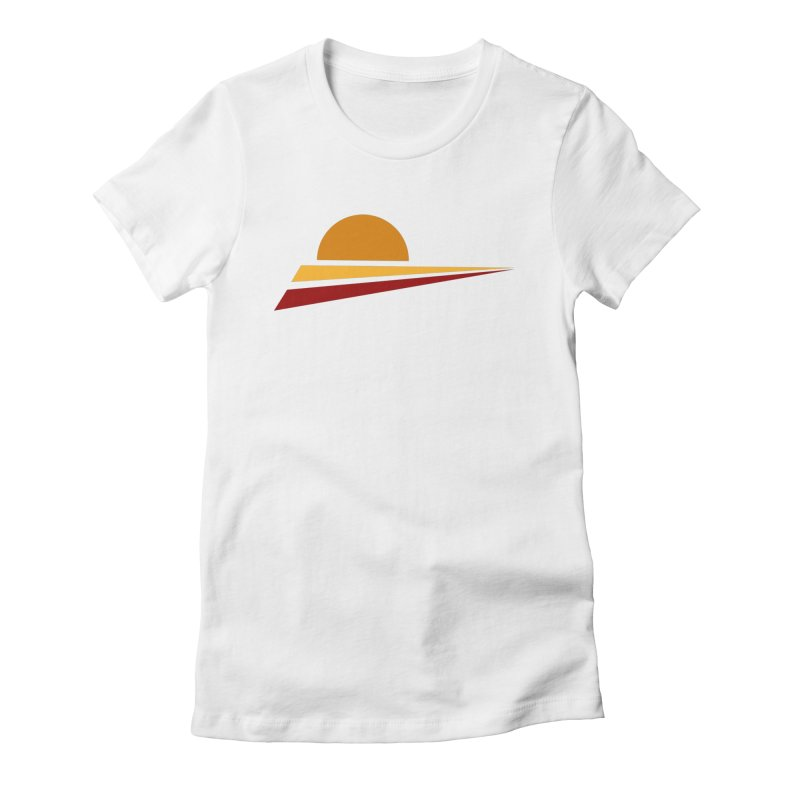O SOLE MIO Women's Fitted T-Shirt by sustici's Artist Shop