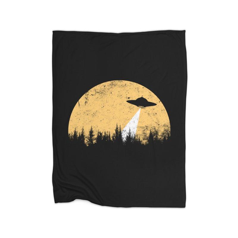 UFO Home Blanket by sustici's Artist Shop