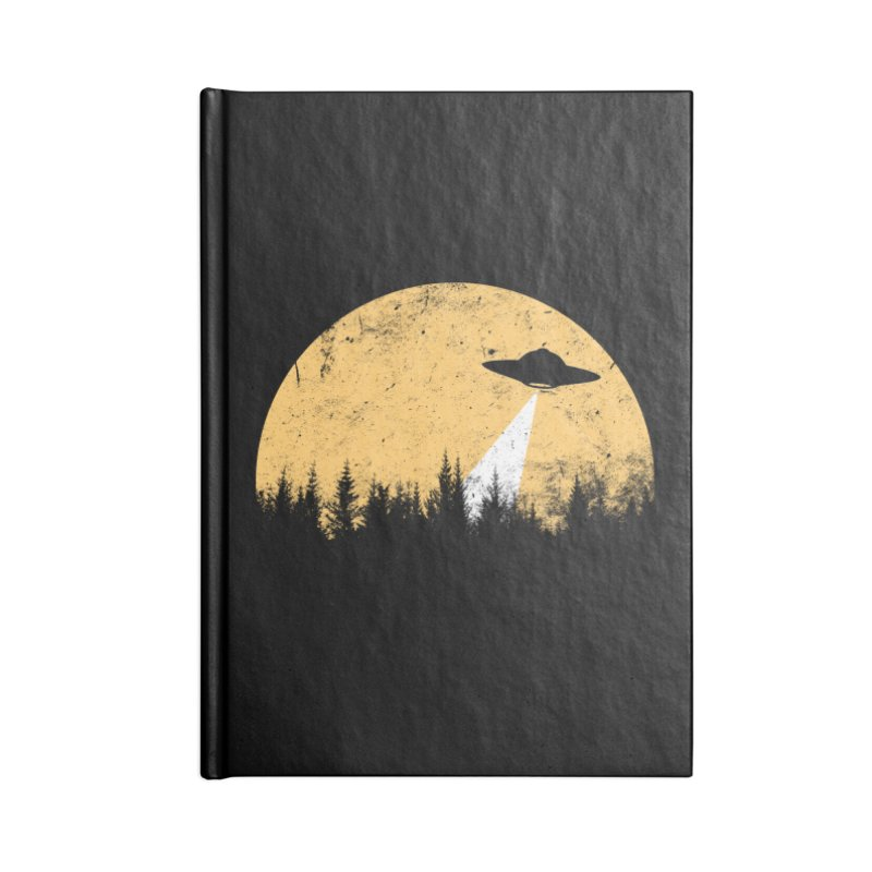 UFO Accessories Lined Journal Notebook by sustici's Artist Shop