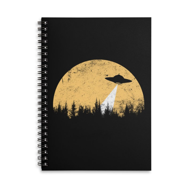 UFO Accessories Lined Spiral Notebook by sustici's Artist Shop