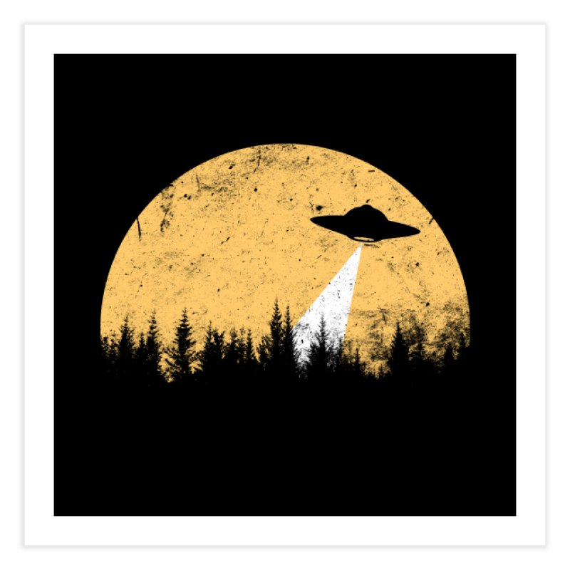 UFO Home Fine Art Print by sustici's Artist Shop