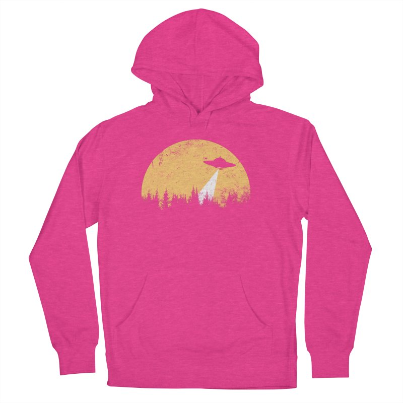 UFO Women's French Terry Pullover Hoody by sustici's Artist Shop