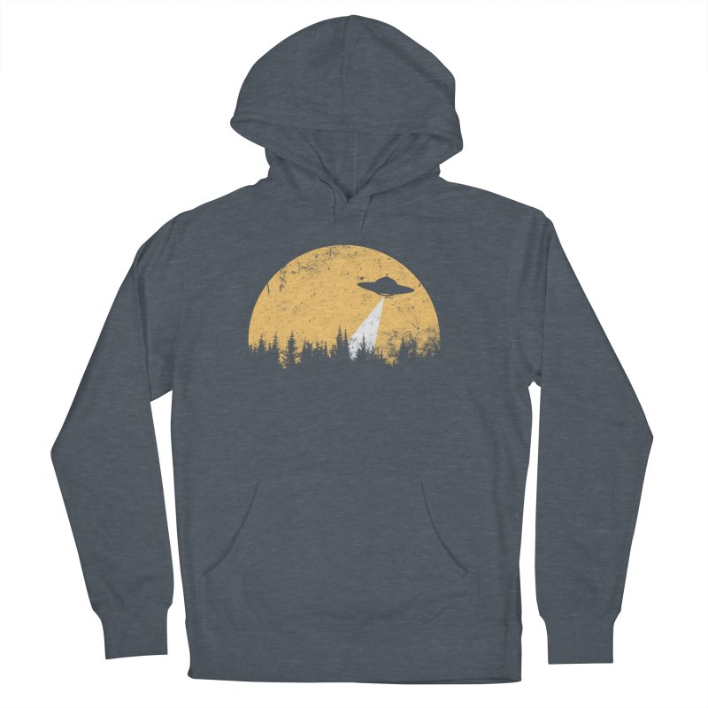 UFO Men's French Terry Pullover Hoody by sustici's Artist Shop