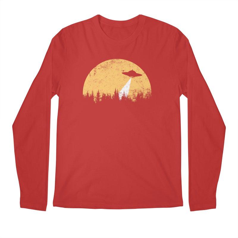 UFO Men's Regular Longsleeve T-Shirt by sustici's Artist Shop