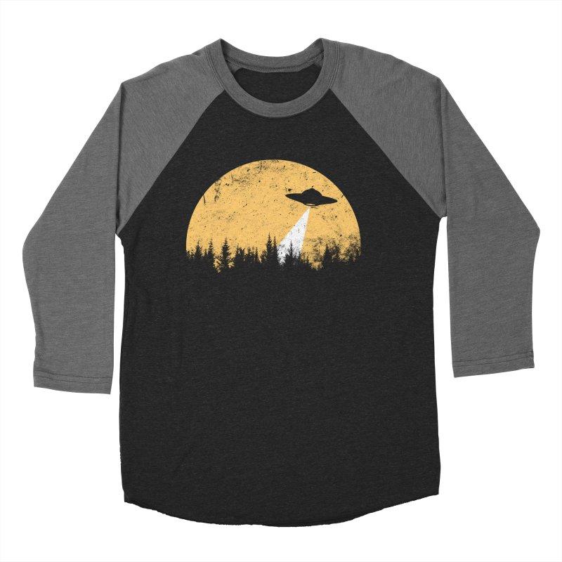 UFO Women's Baseball Triblend Longsleeve T-Shirt by sustici's Artist Shop