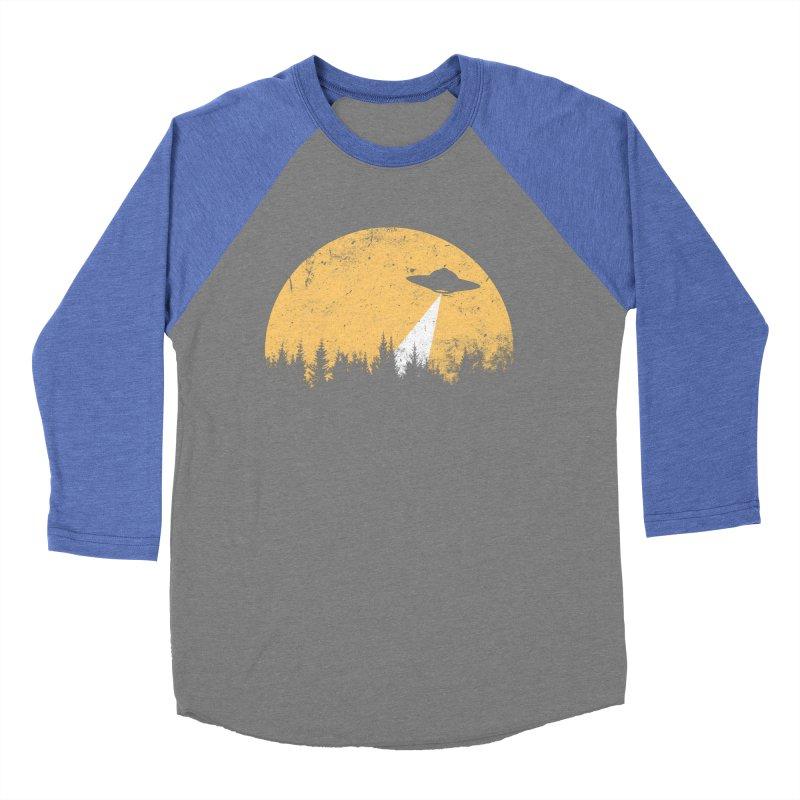 UFO Men's Baseball Triblend Longsleeve T-Shirt by sustici's Artist Shop