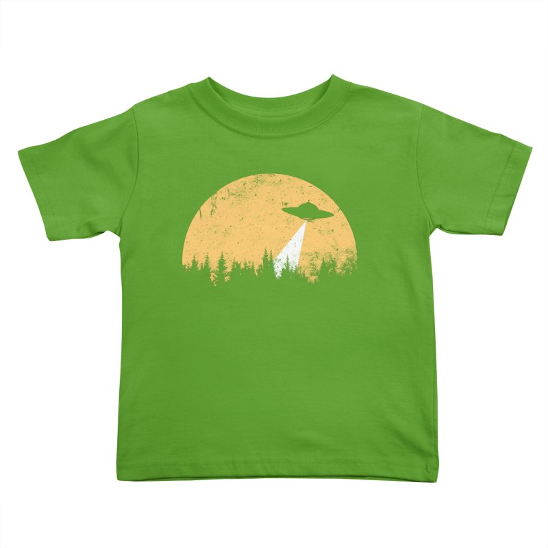 UFO Kids Toddler T-Shirt by sustici's Artist Shop