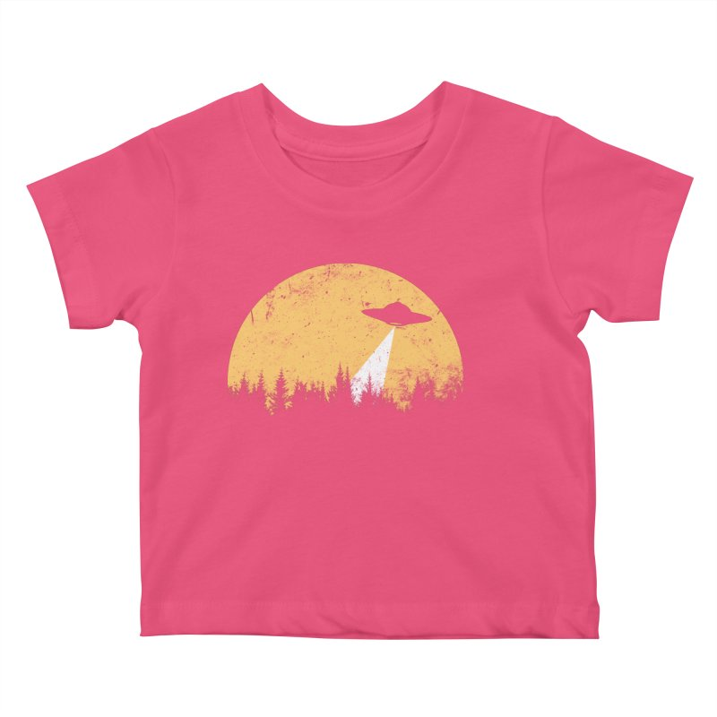 UFO Kids Baby T-Shirt by sustici's Artist Shop
