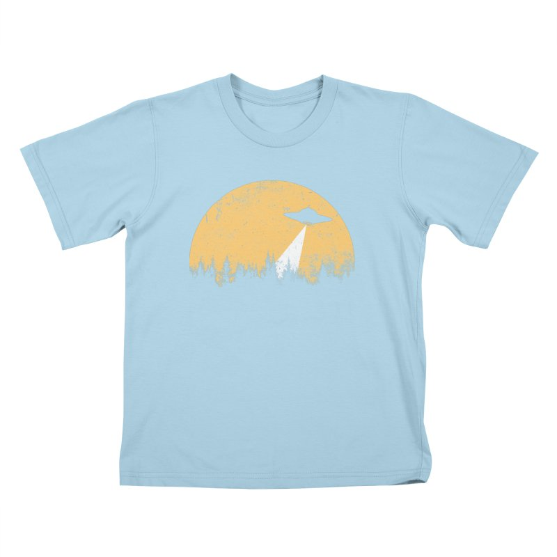 UFO Kids T-Shirt by sustici's Artist Shop