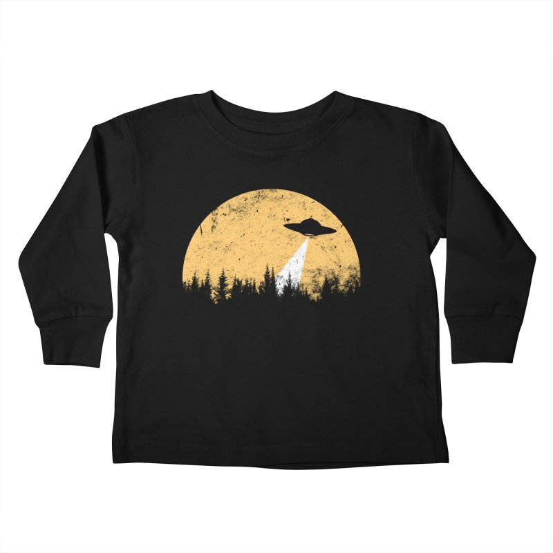 UFO Kids Toddler Longsleeve T-Shirt by sustici's Artist Shop