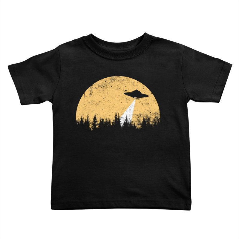 UFO Kids Toddler T-Shirt by sustici's Artist Shop