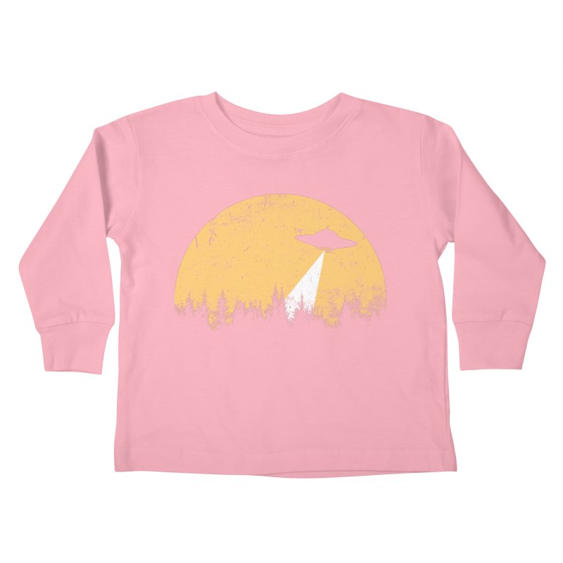 UFO Kids Toddler Longsleeve T-Shirt by sustici's Artist Shop