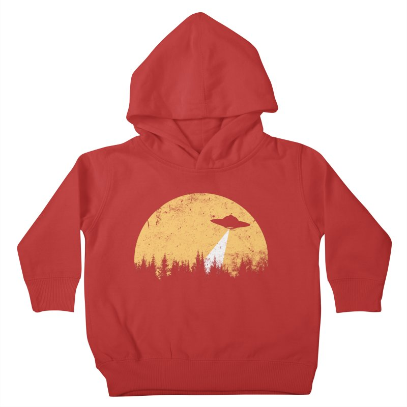 UFO Kids Toddler Pullover Hoody by sustici's Artist Shop