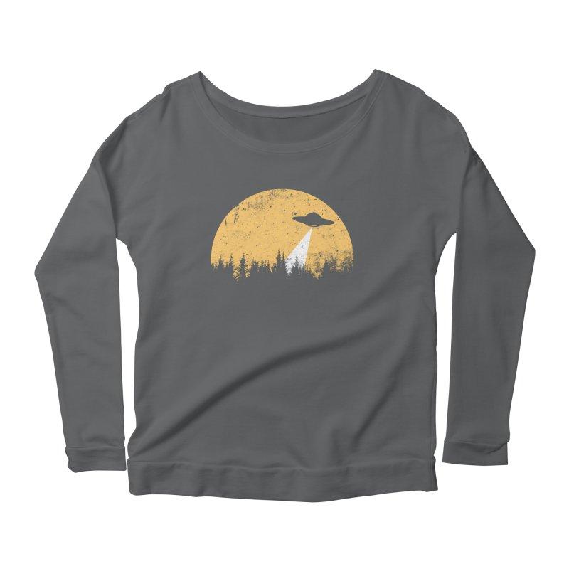 UFO Women's Scoop Neck Longsleeve T-Shirt by sustici's Artist Shop