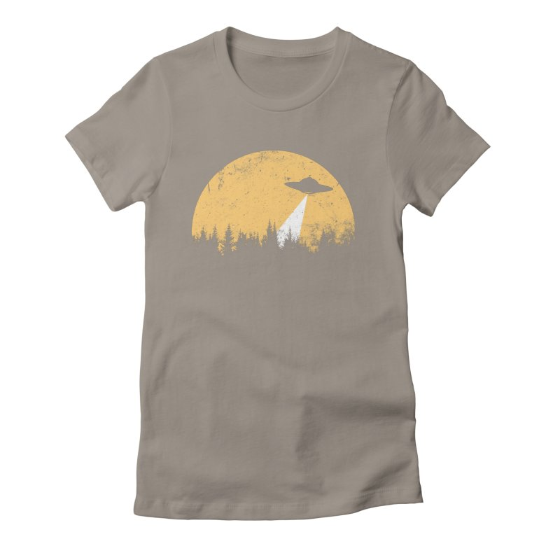 UFO Women's Fitted T-Shirt by sustici's Artist Shop