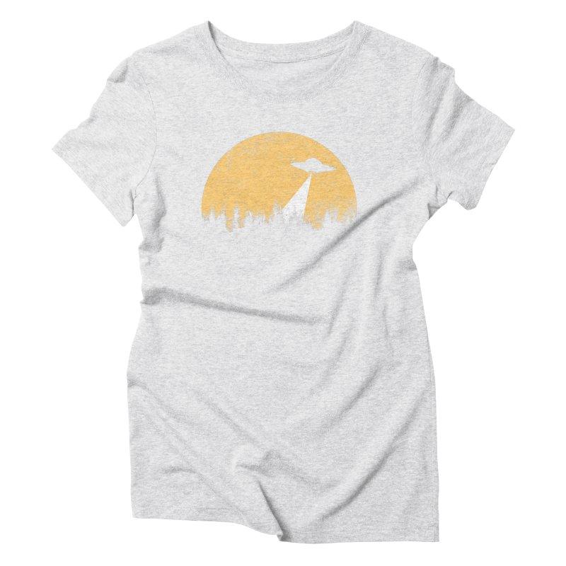 UFO Women's Triblend T-Shirt by sustici's Artist Shop