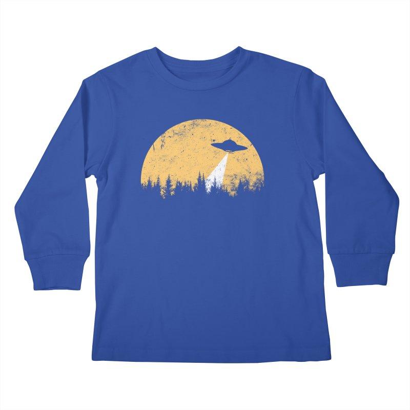 UFO Kids Longsleeve T-Shirt by sustici's Artist Shop