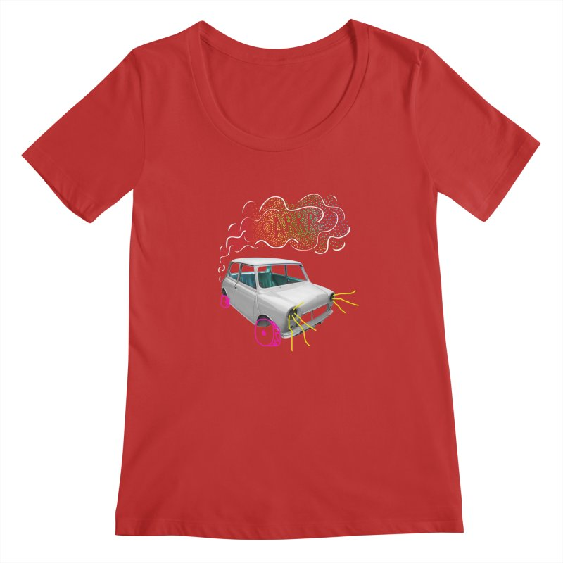 fast and furious Women's Regular Scoop Neck by sustici's Artist Shop