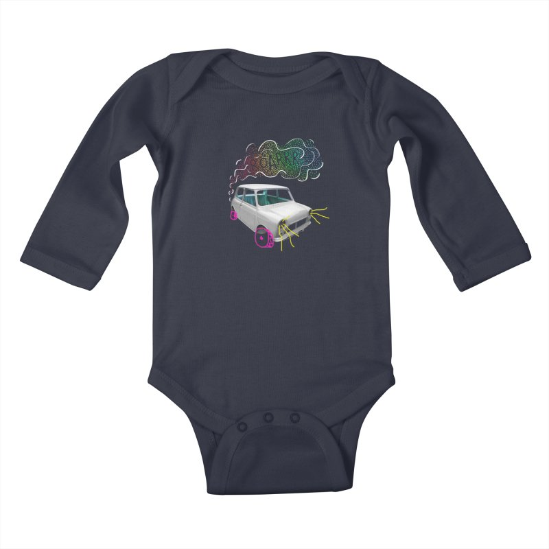 fast and furious Kids Baby Longsleeve Bodysuit by sustici's Artist Shop